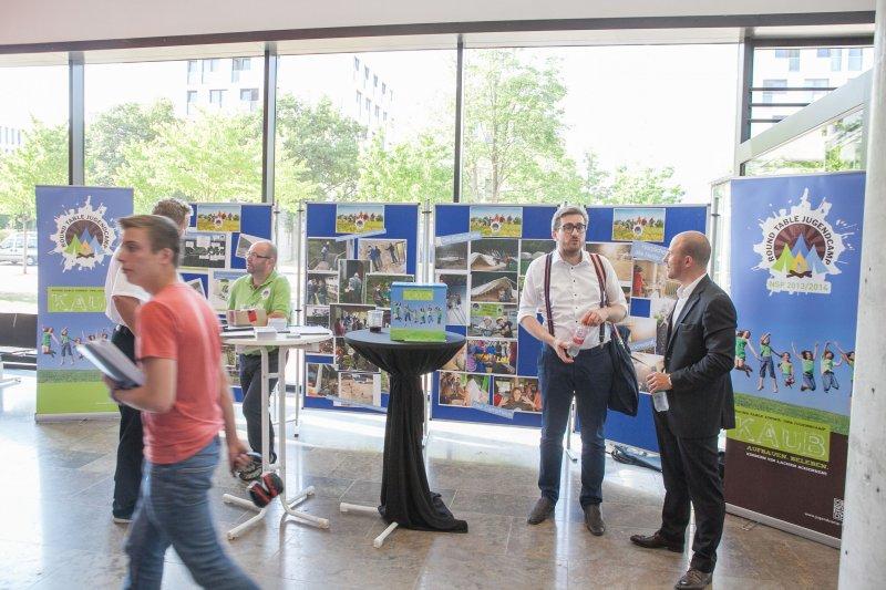 Benefizsymposium Eigenverantwortung am 16. Juli 2015 an der Goethe Universität Frankfurt - Bild 01