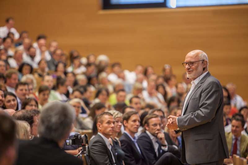 Benefizsymposium Eigenverantwortung am 16. Juli 2015 an der Goethe Universität Frankfurt - Bild 06