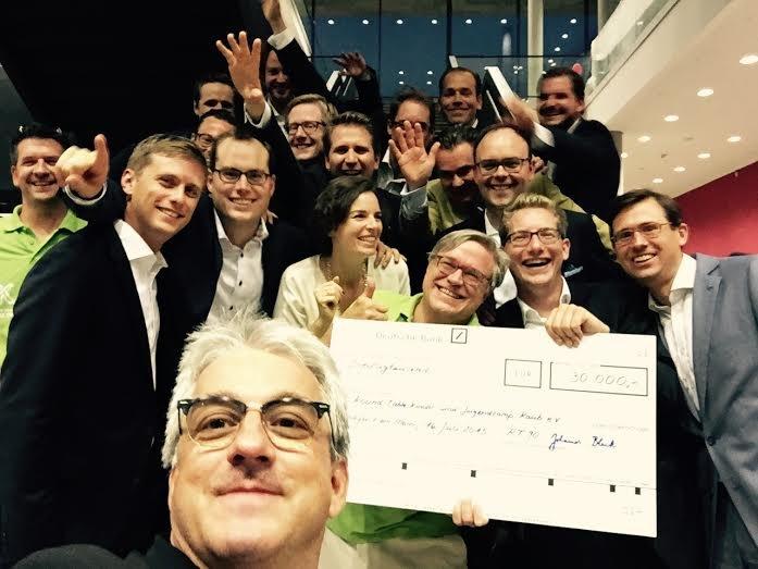 Benefizsymposium Eigenverantwortung am 16. Juli 2015 an der Goethe Universität Frankfurt - Bild 25