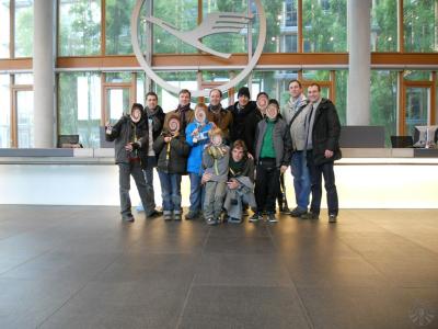 Zeit mit Kindern: Besichtigung Flughafen Frankfurt