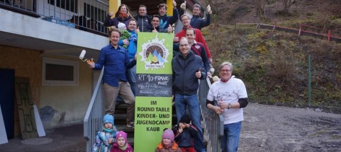 Hands-On Einsatz des RT90 beim Round Table Kinder- und Jugendcamp Kaub
