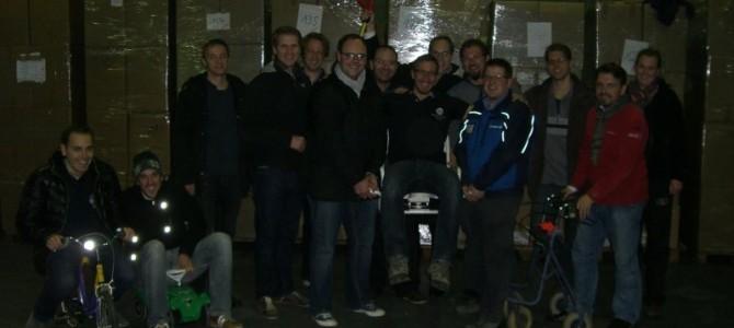 Hands on in Hanau für den Weihnachtspäckchenkonvoi