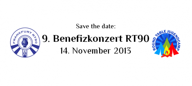 Save the date: Benefizkonzert 2013