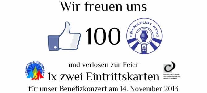"""100 """"Gefällt mir"""": Eintrittskarten gewinnen!"""