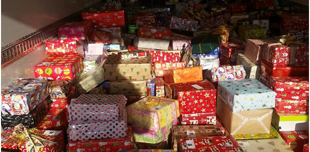 Weihnachtspäckchen für Kinder in Moldawien, Rumänien und der Ukraine